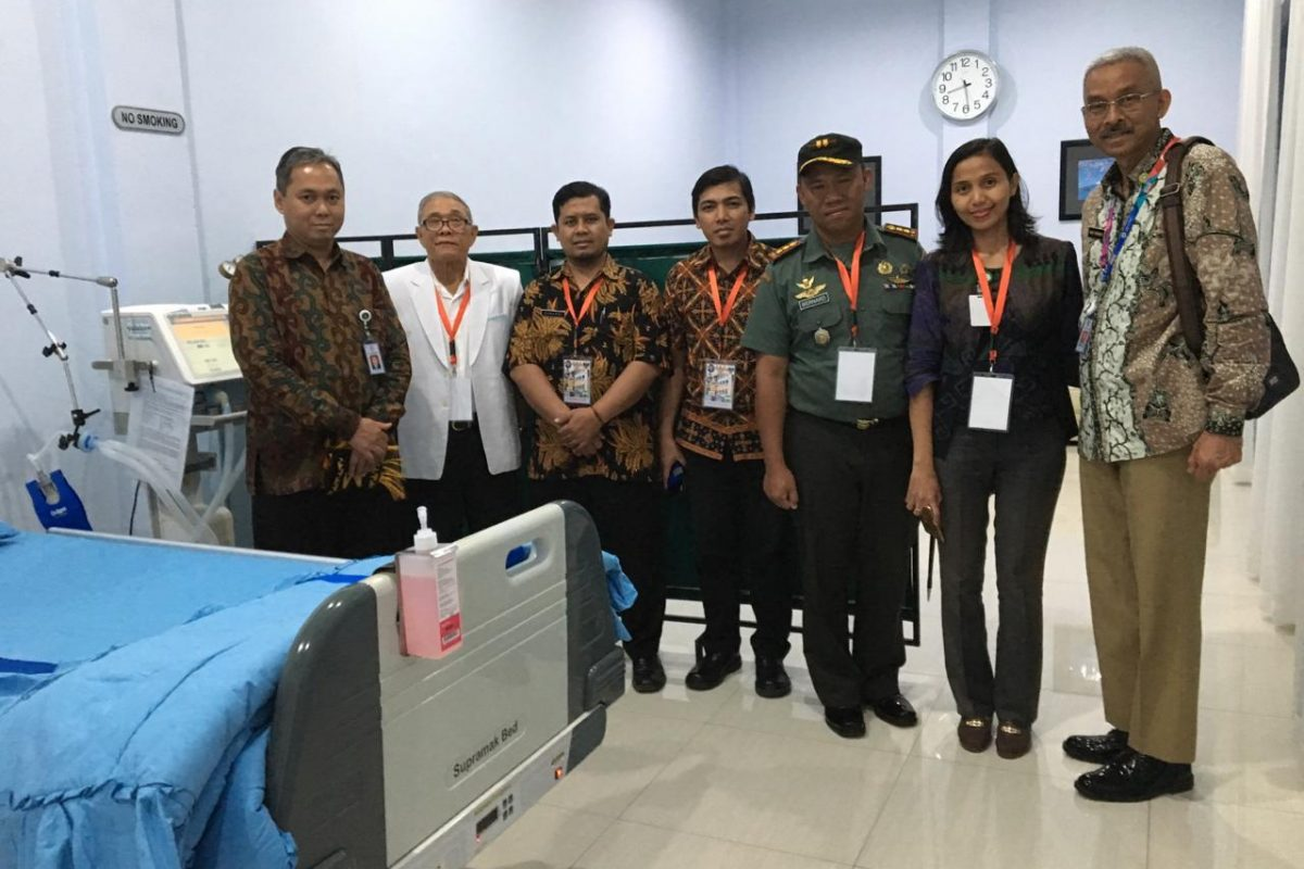 Team medis Prov Lampung untuk RI 1 dalam Kunjungan Presiden