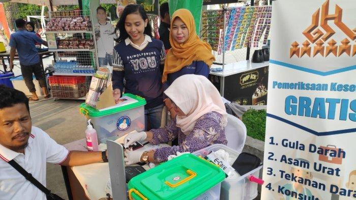 Tribun Lampung Ramadhan Vaganza Hadirkan Tes Kesehatan Gratis Bersama RS Graha Husada
