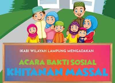 IKABI Wilayah Lampung Adakan Khitanan Massal