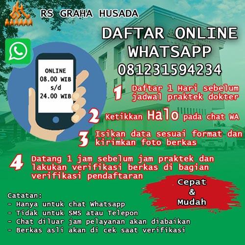 Daftar online rs graha husada lampung